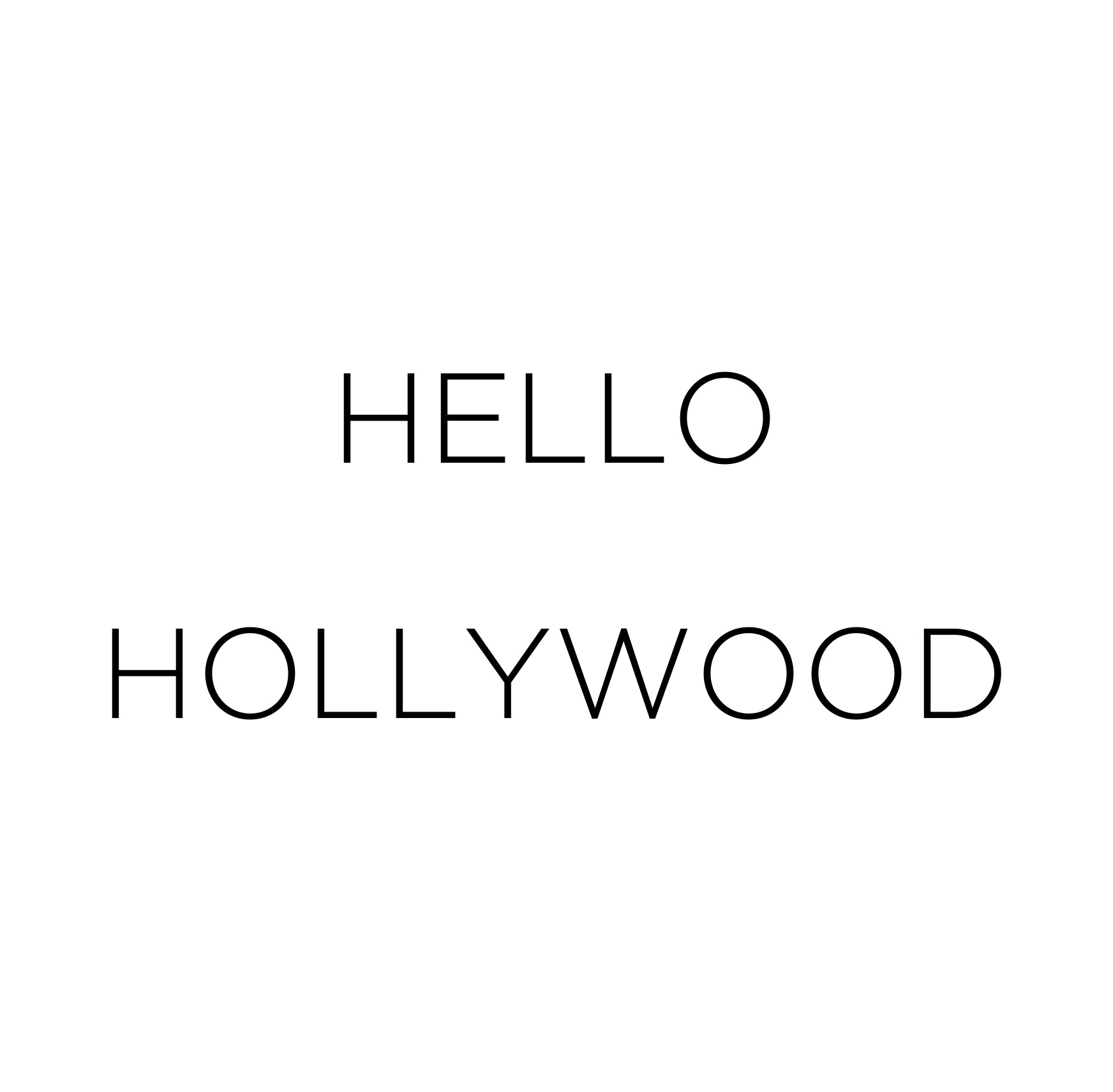 HELLO-HOLLYWOOD